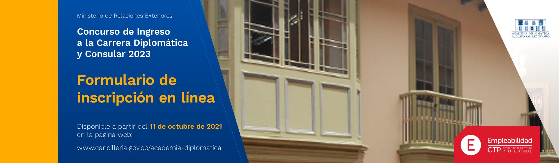Carrera Diplomática y Consular 2023 | Uniandes